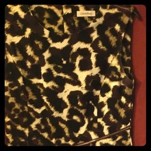 Animal print Calvin Klein sz 8 dress